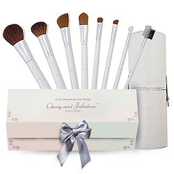 Luxury 10 Piece Makeup Brush Set